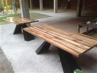 Tavolina me drru arre