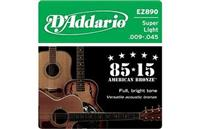 Dadario EZ - 890 - for Acoustic Guitar