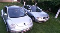VW NewBeetle dhe Audi A3