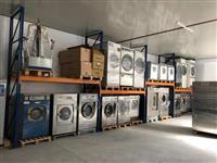 Makina industriale lavatrice , tharëse dhe pranga