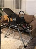 Shpina, inversion table,