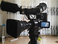 JVC GY HD 110 Cam,., Stativ, Akku, Ladegerät Mikro