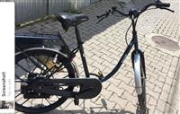 Shes biciklet me motor sachs saxonette