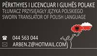 Perkthime certifikuara gjuha polake polonisht wiza