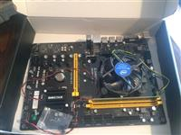 Shesim Motherboard,Power Supply, RAM dhe Processor