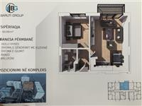 Banesa 61m2 kati  3. Kompleksi ERTA. E GATSHME
