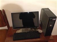 Kompjuter dell me monitor HP komplet