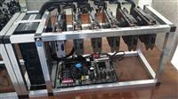 mining rigs and btc