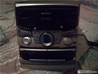 Radio sharp,me dy kaseta,fm stereo radio