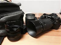 Nikon D90 Me 3 llensa