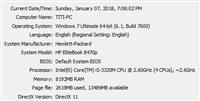 HP i5 3gen.- 8gb ram