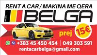 BELGA Rent A Car Prishtina Aeroport pre 15€/dite!