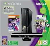 Shes xbox 360 slim 250gb dy controllera kinect 7CD