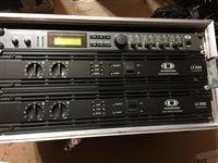 Dynacord lx , cl 2000 vl 152 ,rack v sistem