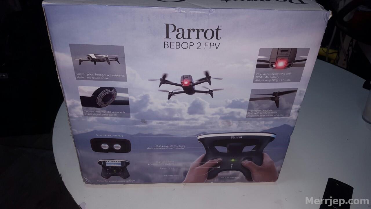 aksion dron i ri ne paket parrot bebop 2
