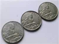 3 monedha france