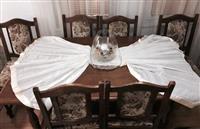 Shitet Tavolina e Bukes me 6-Karrige nga Druri