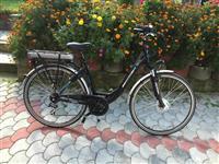 Bicikleta nga zvicrra me bateri