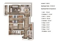 Shitet Banesa 101.4 m² - Kompleksi Grand Tower