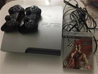 Playstation 3 me 8 loje brenda+cd+dy gjistika