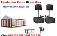 Zerim Tenda karrika me qira +38345252957