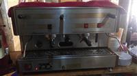 Shes aparatin e kaffes (San Marco) baj dhe ndrrim