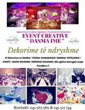 EVENT CREATIVE - Dasma dhe Ahengje Familjare !!