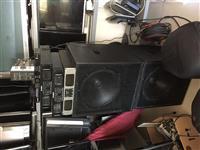 Autoparlant , pajise muzikore per ahengje  origjin