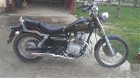 Honda rebel .shes motor still 23