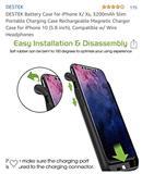 Battery per Iphone X/XS Jashtme