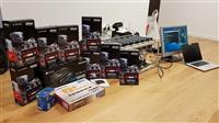 Mining Rig 6 x Sapphire 570 Nitro+ (i ri)