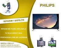 RIPARIM I TV PHILIPS LCD & LED dhe Pllazma
