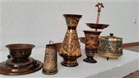 Vazo dhe Objekte të vjetra Bakri