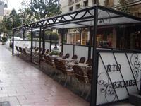 metal punues eroni-metal terasa (veranda)