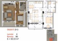 Shiten banesat 2 dhomëshe nga 75 deri 94m2