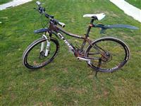Shes biciklen CUBE 26
