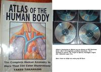 Shes Liber Atlasi i anatomise te njeriut dhe 4 CD