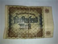5000 dojçe mârka antike