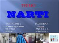 TermoNARTI instalime:N.qendrore,Elektros,Ujesjells