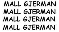 SHES MALL NGA GJERMANIA ME SHUMIC