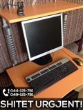 Pc-Kompjuter komplet me tavoline,monitor+