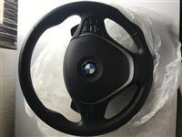 Vollan per Bmw me shpejtesi ne vollan me airbag