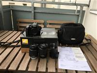 Nikon D3300 me 2 objektiva me garancion