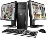 Kompjuteri Hp z400 workstation Komplet