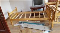 Kreveta ne shitje, pa dyshek vetem struktura