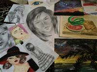 Shes vizatime , portrete..
