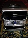 Radio me 3cd+2kaseta+fm stereo
