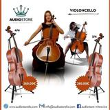 Violin Celo 4/4 & 3/4
