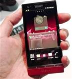 Sony Xperia Red Color