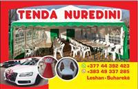 Ofrojm tenda(shatora),tavolina dhe dekore